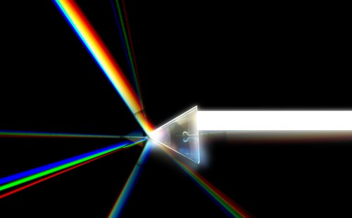 3D Prism Rendering with RGB Split