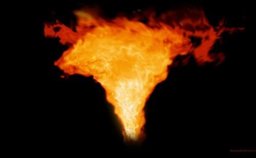 3D Fire Tornado