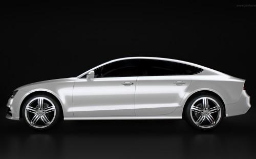 Audi S7 Studio Rendering