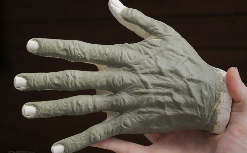 Old Age Hand Prosthetic
